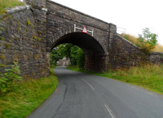 Settle-Carlisle railway line: Bridge at Shaw Paddock