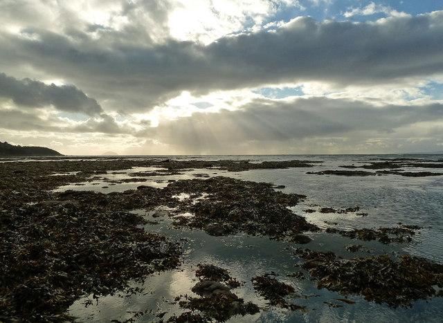 Maybole Shore at Low Tide
