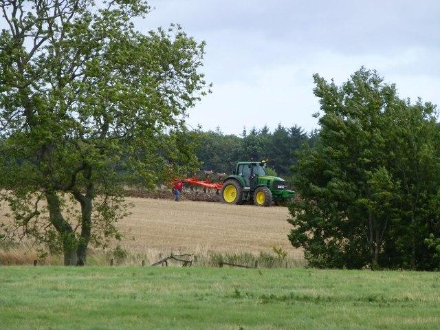 Ploughing near Rock Mill