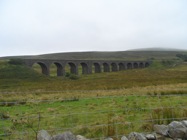 Dandrymire Viaduct, Carlisle- Settle Railway