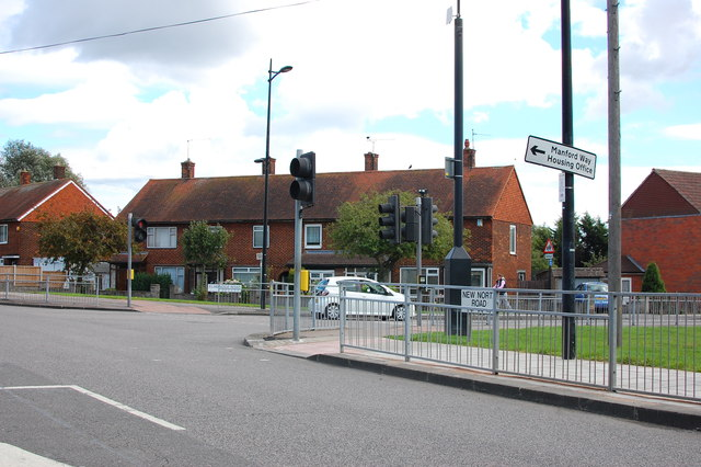 Junction on New North Road