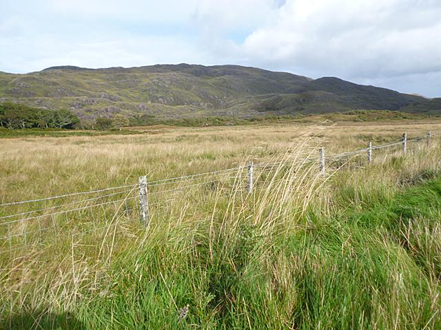 Flat Land among the Hills