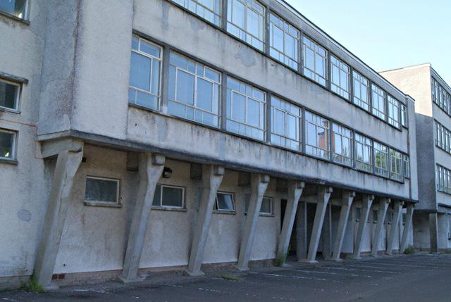 Former Greenock High School building