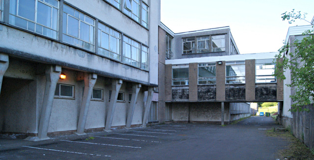 Former Greenock High School building