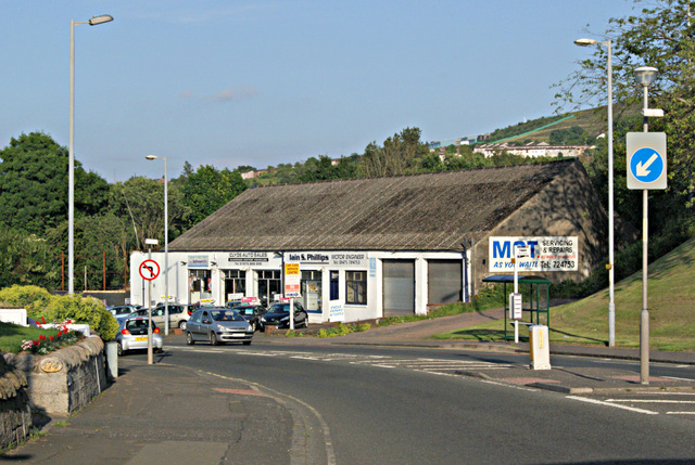 The A78 Inverkip Road