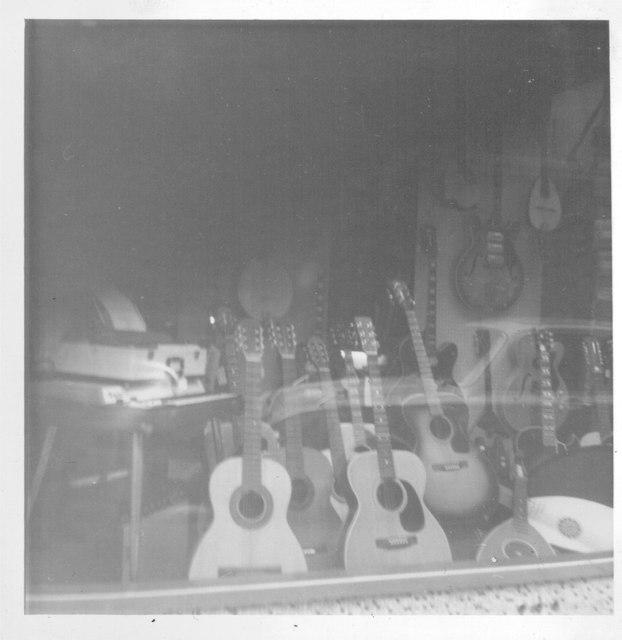 Ivor Mairants Musicentre window, 1969