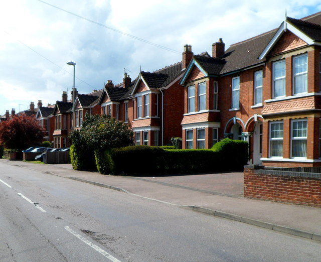 Podsmead Road houses in Gloucester