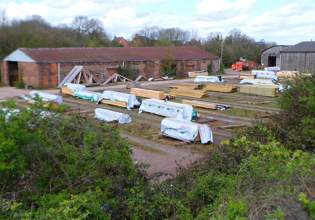 Timber yard in Bristol Road Gloucester