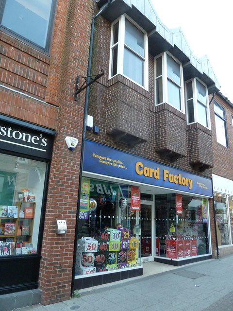 Card Factory, South Street
