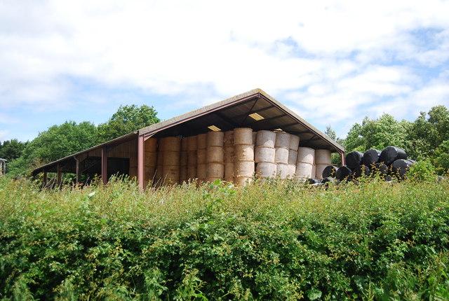 Hay barn, Dudwell Farm