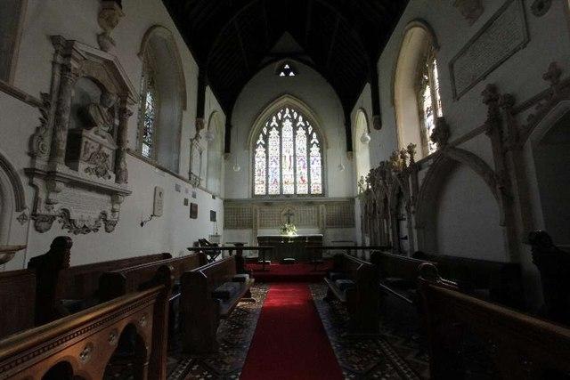 The Chancel in St Margaret
