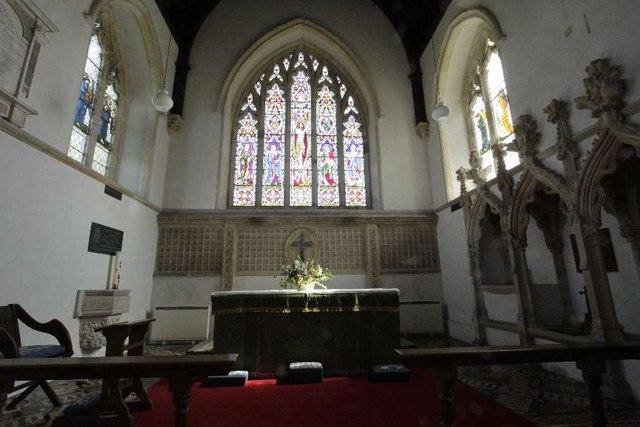 Altar and Chancel Window