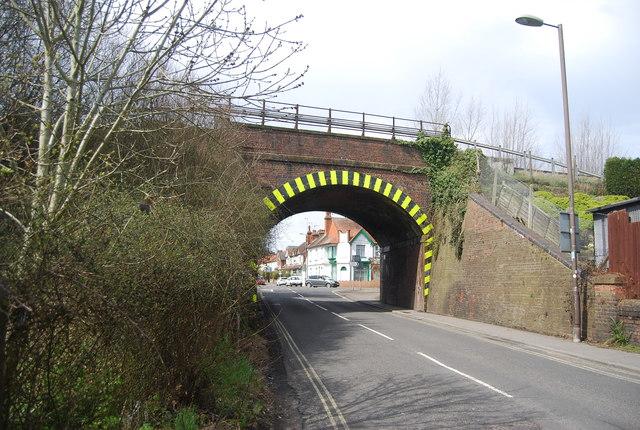 Railway Bridge, Weybourne Rd