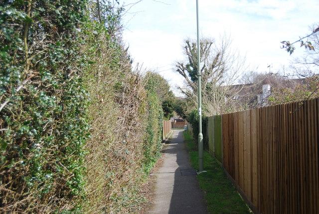 Urban footpath, Brickfields Park