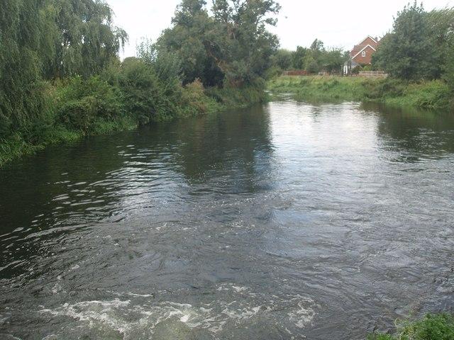 River Ivel below Langford Mill