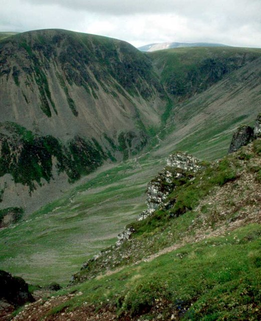The head of Coire Garbhlach