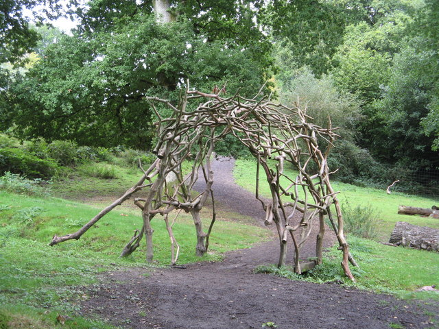 Arboretum Walk, Nymans Gardens