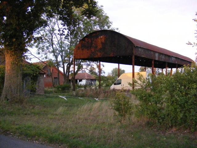 Dutch Barn at Dairy Farm