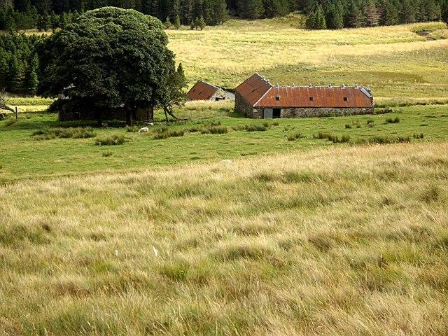 Farm outbuildings near Torniechelt
