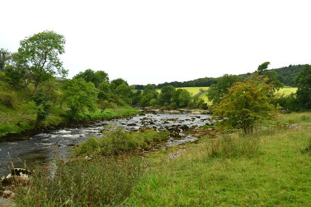 River Wharfe above Grassington