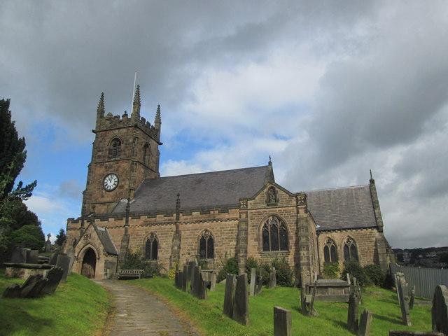 The church at Old Matlock