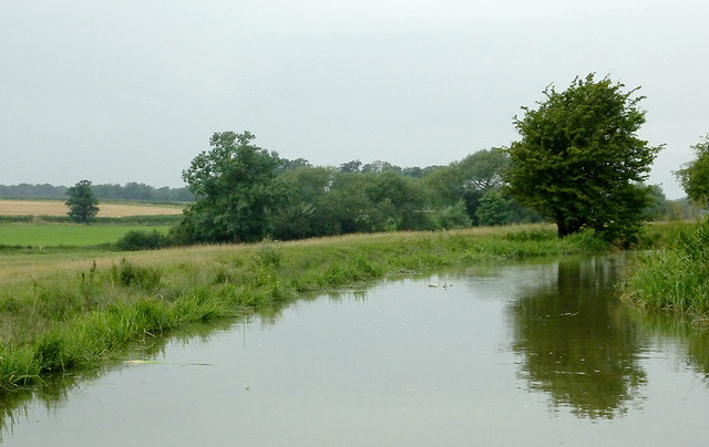 Canal and pasture north-east of Fleckney, Leicestershire