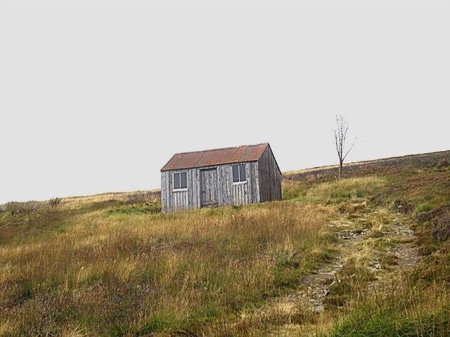Shooting box on Tornichelt Hill