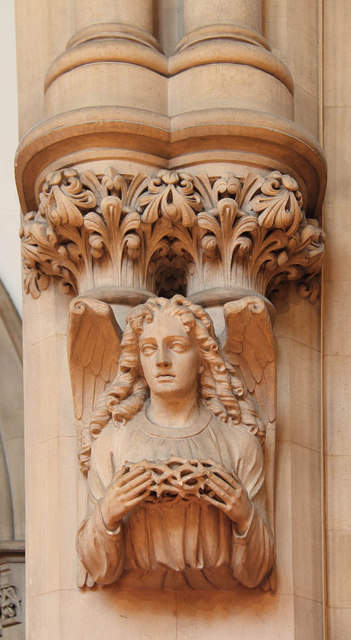 St Matthew, St Petersburgh Place - Corbel