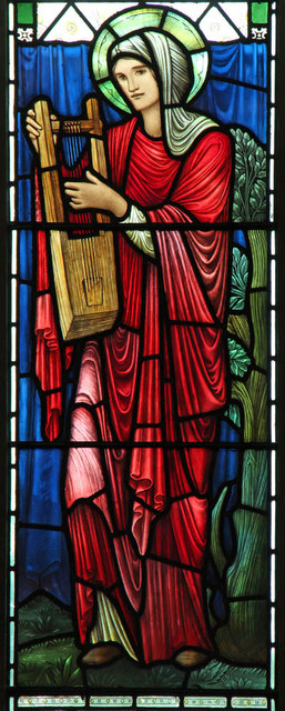 St Matthew, St Petersburgh Place - Stained glass window