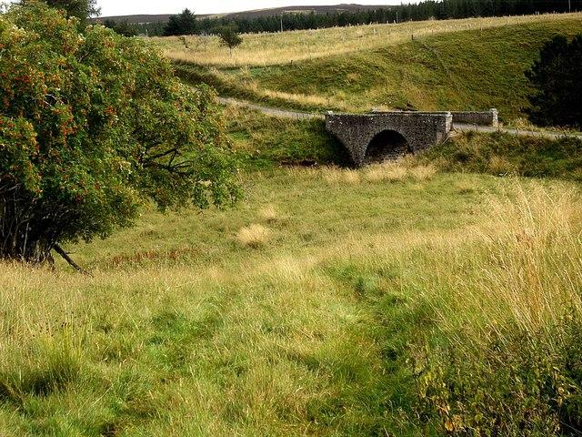 Stone bridge over Allt Deveron