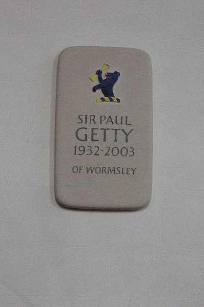Sir Paul Getty