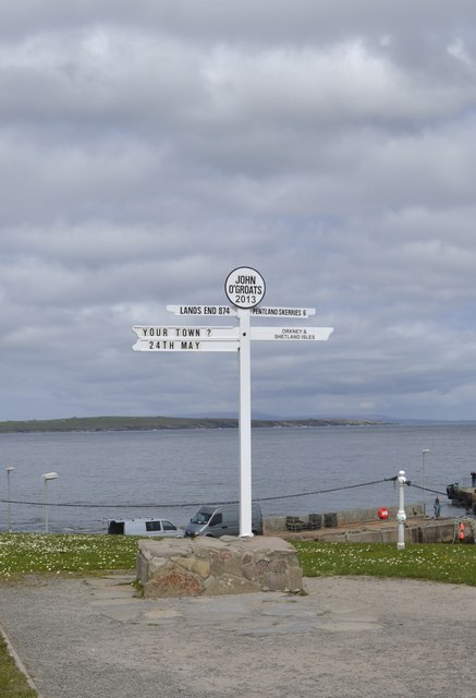The Sign Post at John O'Groats, Wick, Caithness