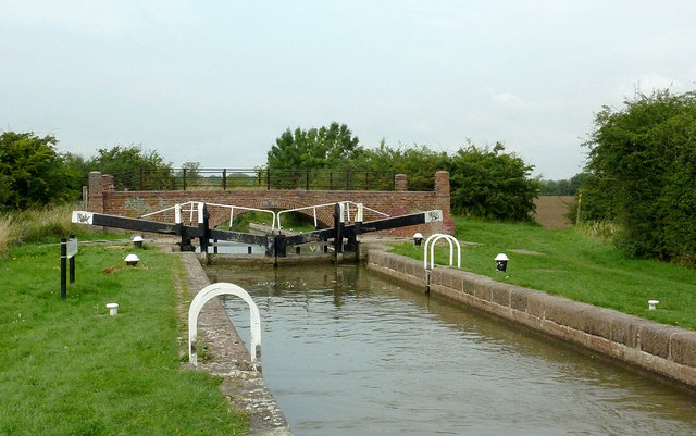 Crane's Lock and Bridge south of Great Glen, Leicestershire