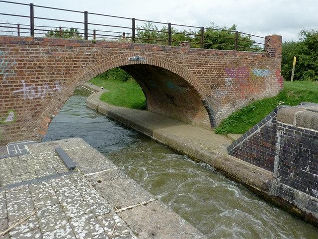 Crane's Bridge south of Great Glen, Leicestershire