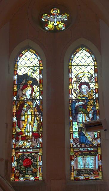Samuel Martin window, Hanley Swan church