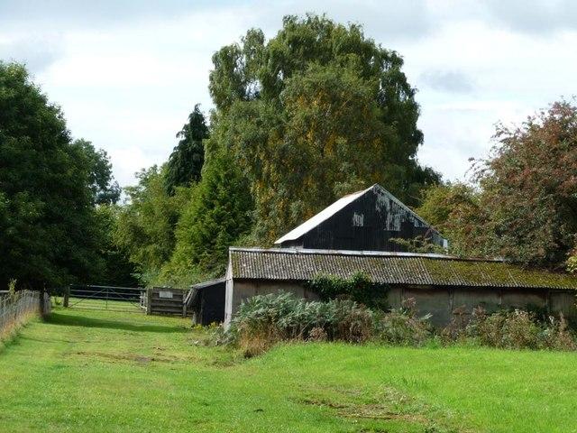 Buildings at Highfields Farm