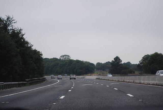 M4, westbound