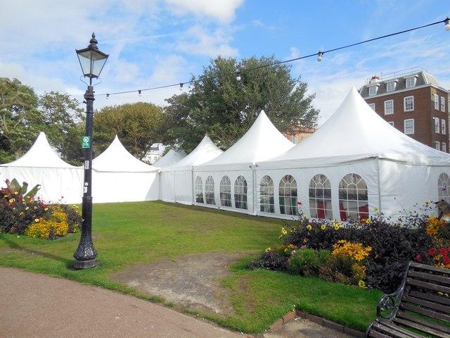 Tents at Japan Festival
