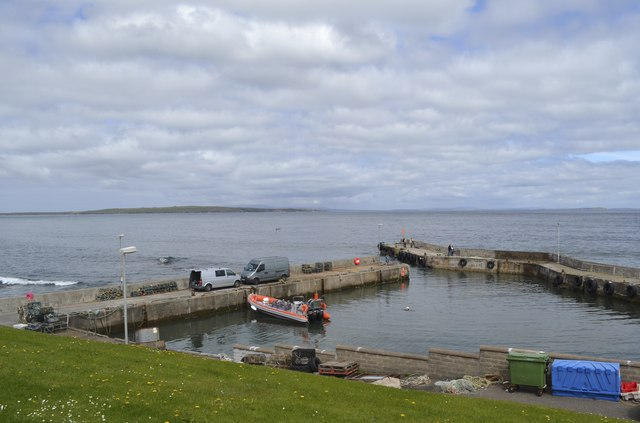 Harbour at John O'Groats, Wick, Caithness