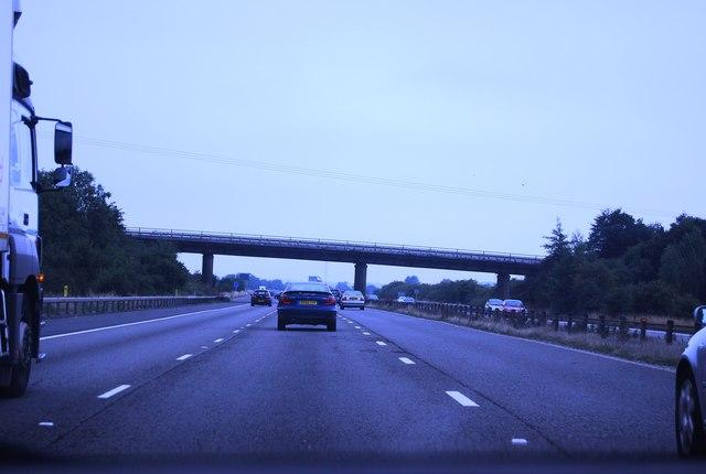 Dodford Lane Bridge, M4