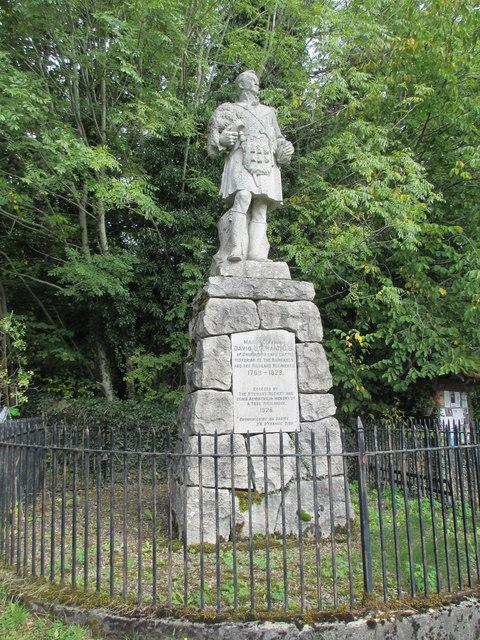 Memorial to David Stewart
