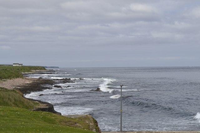 Coastal View to the Ness of Huna, from John O'Groats, Wick, Caithness