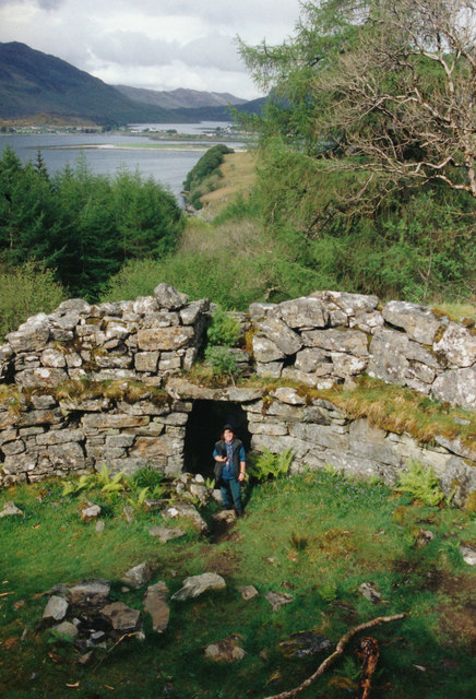 The broch at Totaig