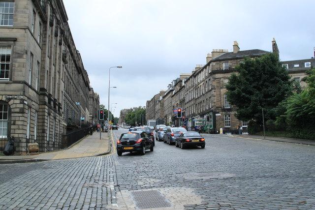 Howe Street Edinburgh