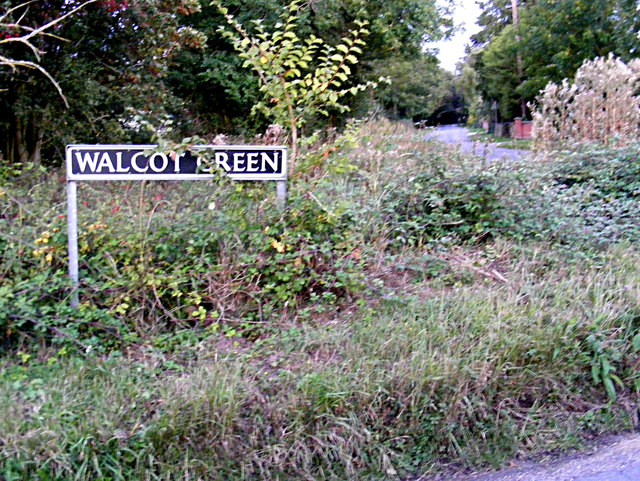 Walcot Green sign