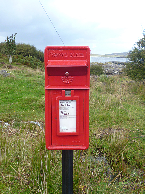 Letterbox at Portuairk