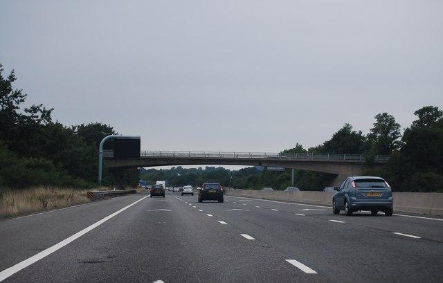 Westerleigh Road bridge, M4