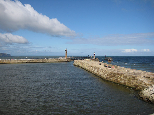 East and West Piers, Whitby