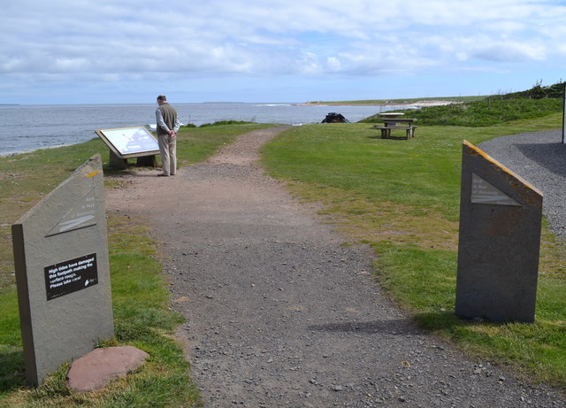 Path to the Ness of Duncansby from John O'Groats