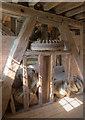 TL2871 : Interior, Houghton Mill by David P Howard